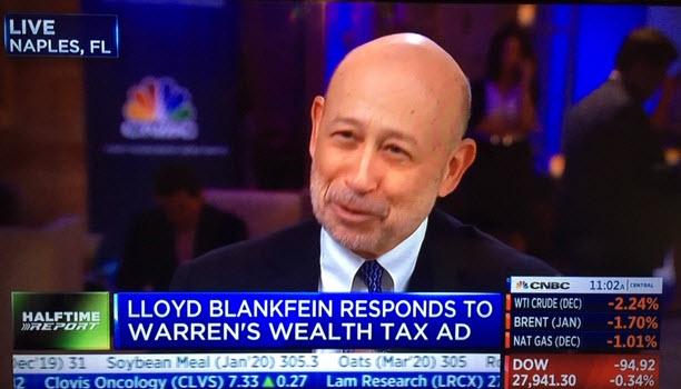 Ex Goldman CEO Lloyd Blankfein