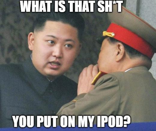 kim jong un ipod
