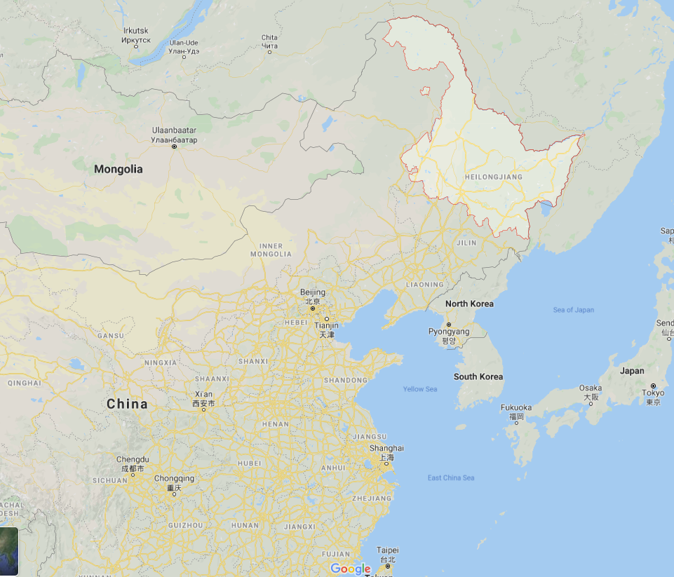 Heilongjiang province borders Russia and is reporting increasing numbers of COVID-19 cases.