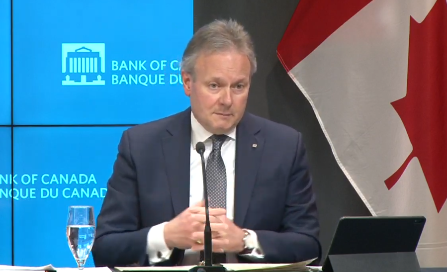 BOC Governor Poloz Monetary Policy