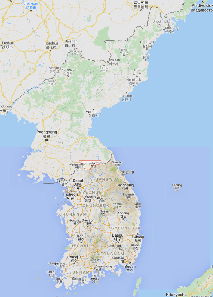 South Korea's military report the North has fired gunshots hitting a South Korean guard post in the central border area of Cheorwon.