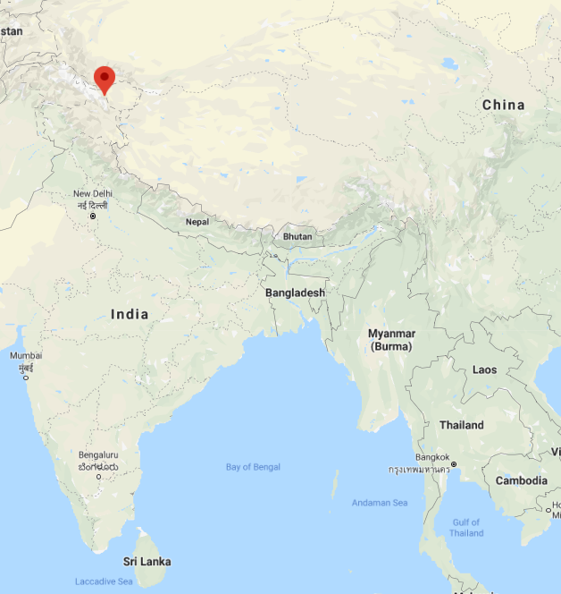Tensions are rising (further) on the India-China border, this posted earlier: