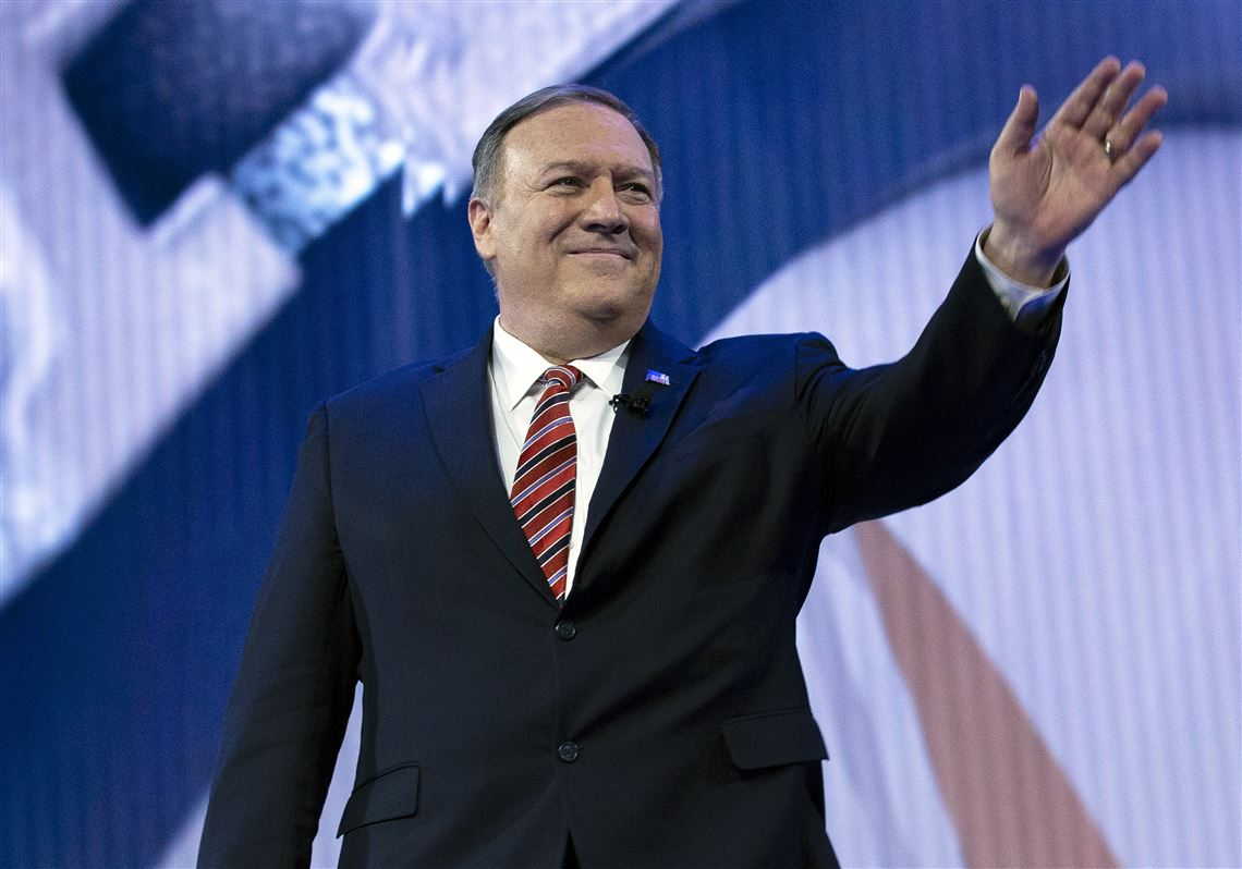 US Secretary of State Mike Pompeo with the latest in the slowly escalating tit for tat deteriorating relations with China