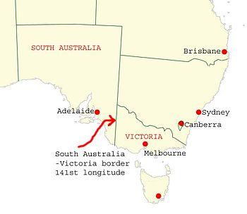 Australia border nsw victoria