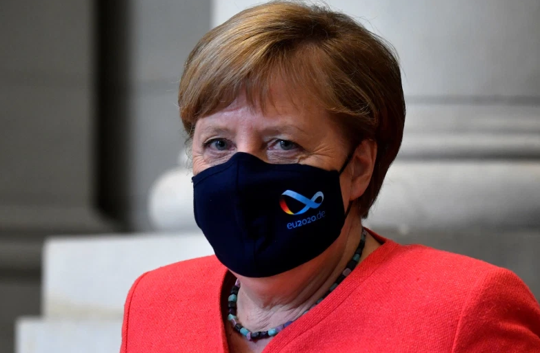 Chancellor Angela Merkel speaking on Monday says she is ready to let lockdown restrictions lapse