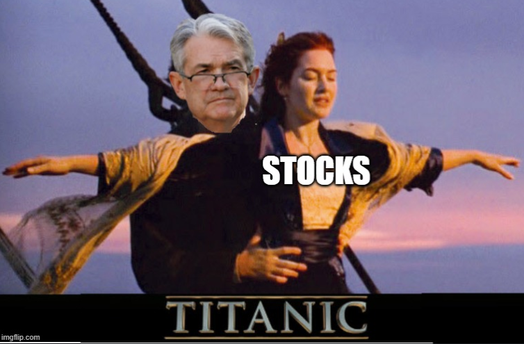 Fed Chair Powell to speak October 6 (... but the market is falling NOW!)