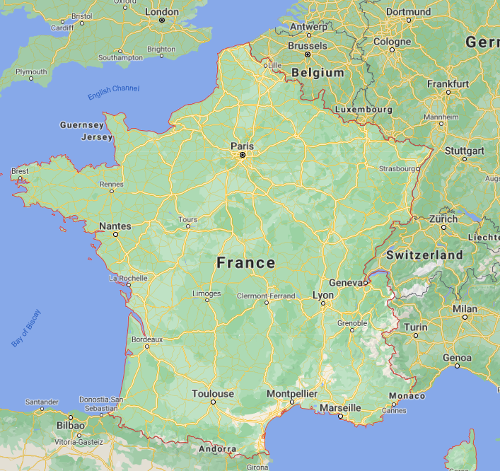 France's health ministry says 9,843 new coronavirus infections had been recorded