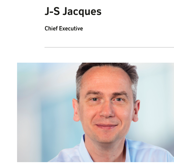 Jean-Sebastian Jacques has stepped down as CEO