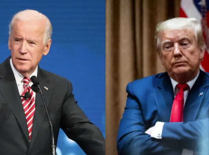This from the Wall Street Journal overnight, polling registered voters shows Biden leading Trump 53% to 42%