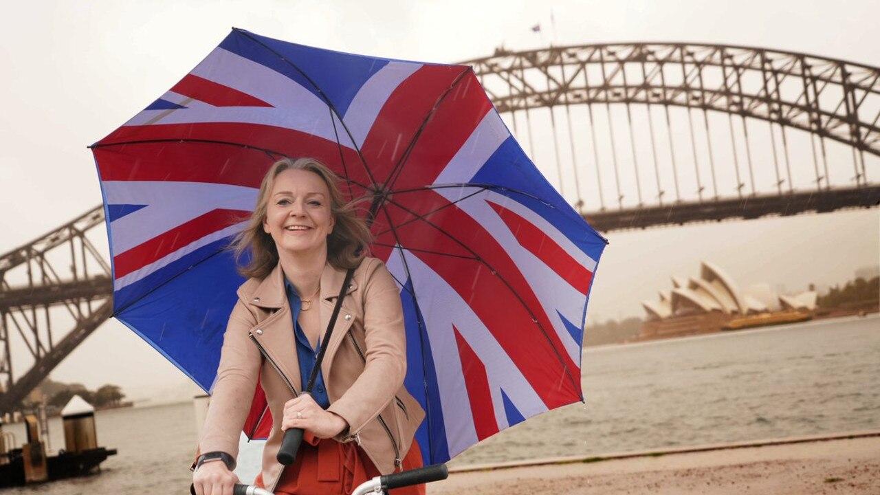UKtrade minister Liz Truss