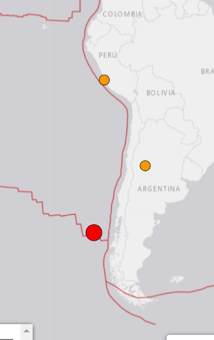 USGS report the quake is fairly shallow at only 10km.