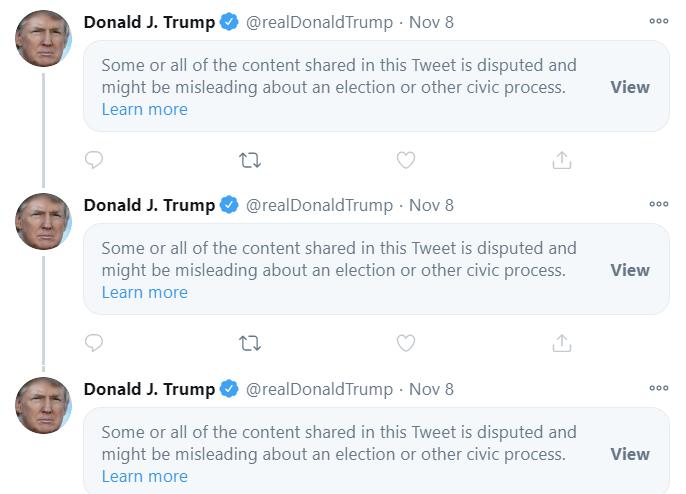 Las redes de medios se apilaron durante el fin de semana para convocar la elección de Joe Biden.