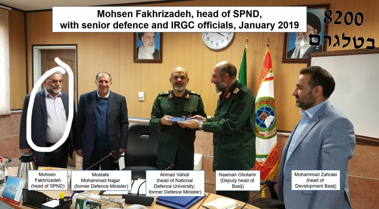 Los medios nacionales informan que Mohsen Fakhrizadeh mató
