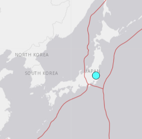 An M5.0 earthquake will be shrugged off by the folks in Japan.