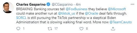Fox's Gasparinosites banking sources_
