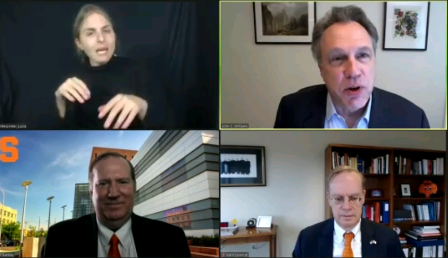 Fed's Williams comments in virtual moderated discussion