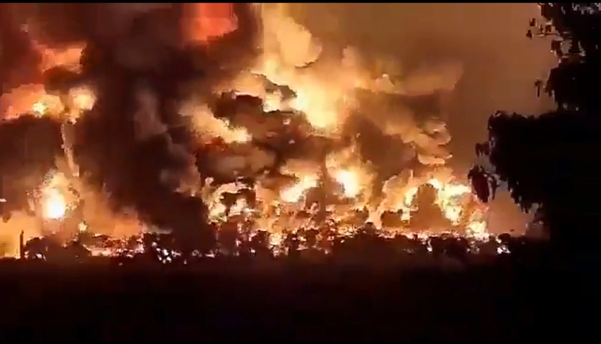 indonesia refinery explosion