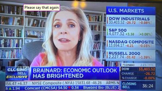 Reynard on CNBC
