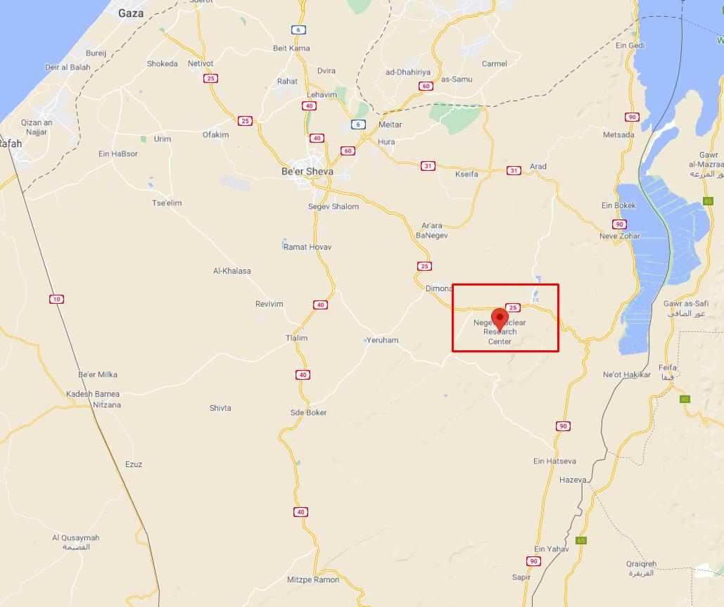 El misil fue lanzado desde la vecina Siria, disparado hacia el sur de Israel la madrugada del jueves.