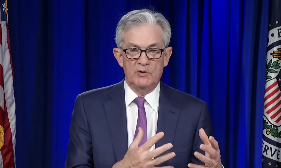 The focus on Wednesday's FOMC and Powell's following new conference was of course Federal Reserve monetary policy.