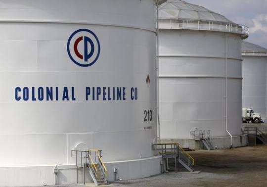 US fuel pipeline operator Colonial Pipeline cyberattack gasoline