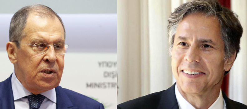U.S. Secretary of State Antony Blinken and Russian Foreign Minister Sergei Lavrov are meeting Wednesday evening (US time) in Iceland.
