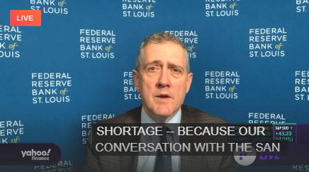 Entrevista de Yahoo Point con St. Louis Fed_