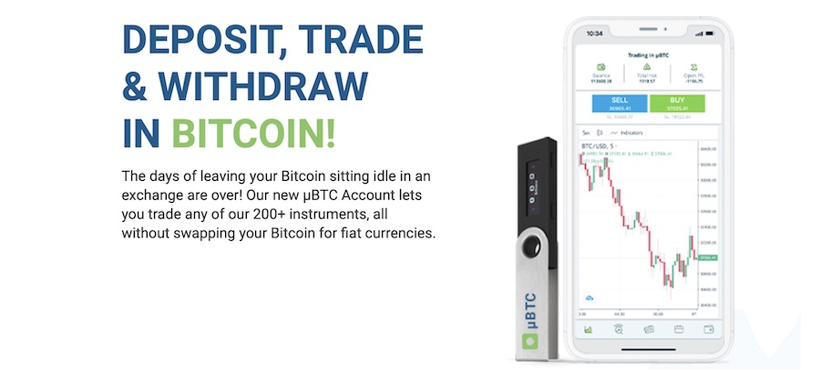 Trade and withdraw in Bitcoin