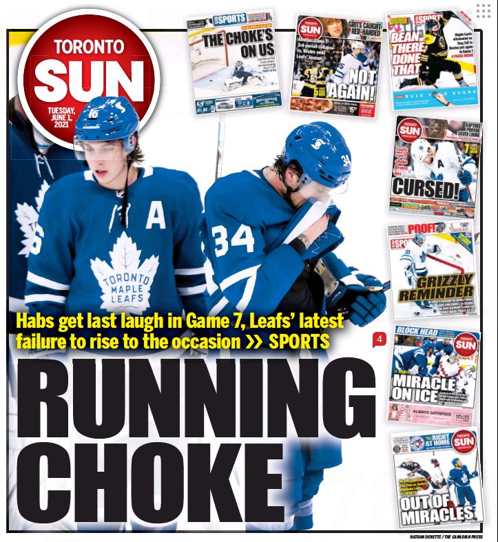 Los Montreal Canadiens derrotan a los Toronto Maple Leafs