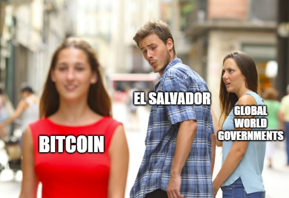 ICYMI - El Salvador bought 200 Bitcoin, takes its holdings to 400