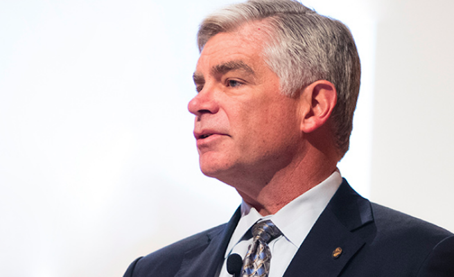 Patrick Harker, president and CEO of the Federal Reserve Bank of Philadelphia