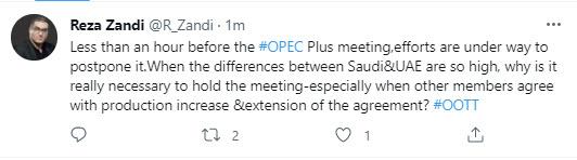 OPEC+ Journalist Zandi