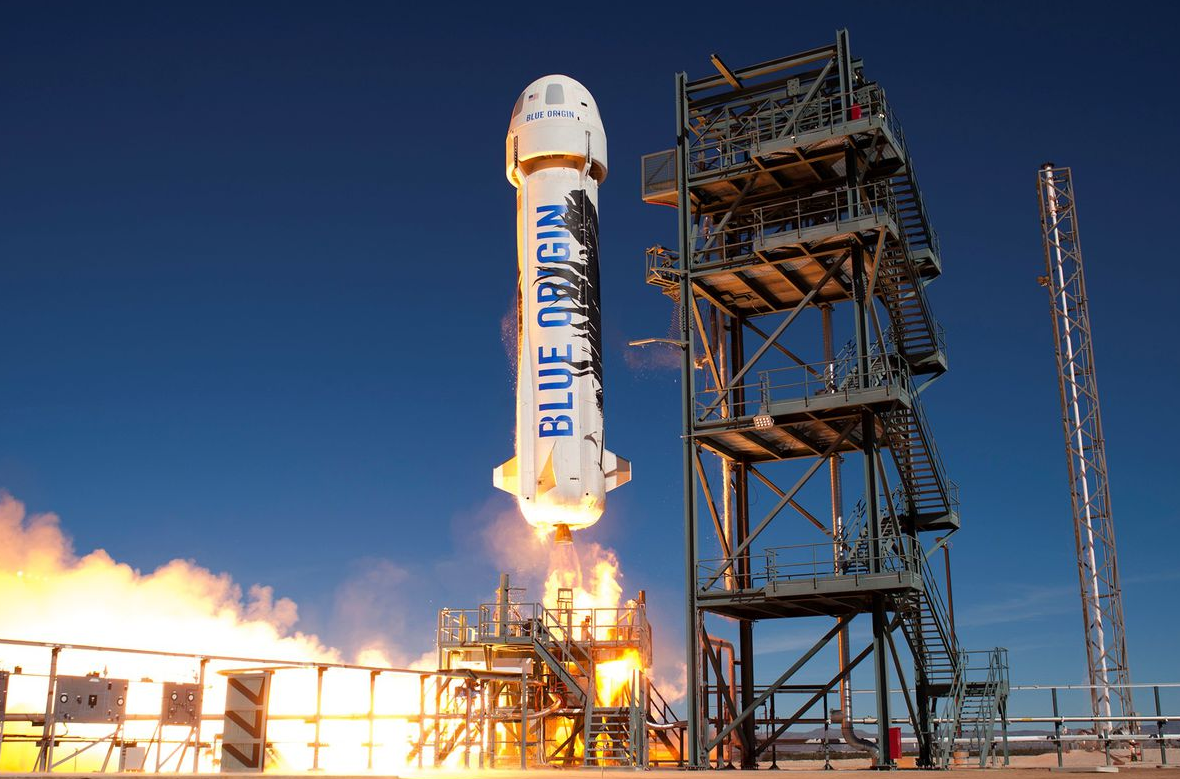 Bezos is also going to space