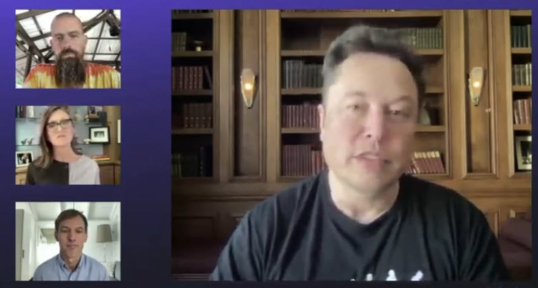 More from Elon Musk at the B Word conference