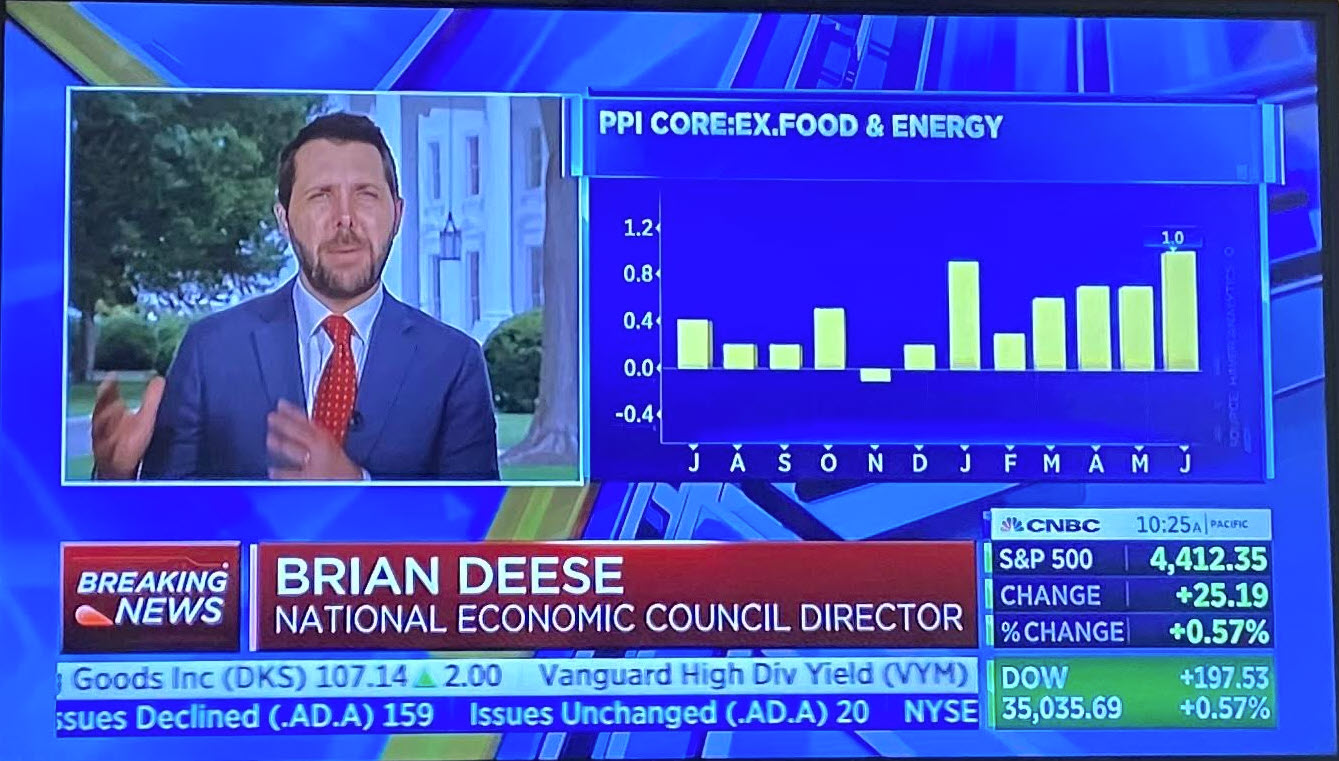 NEC Brian Deese on CNBC.