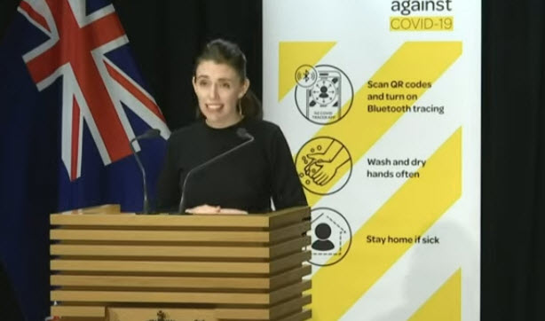 Comments from the New Zealand PM
