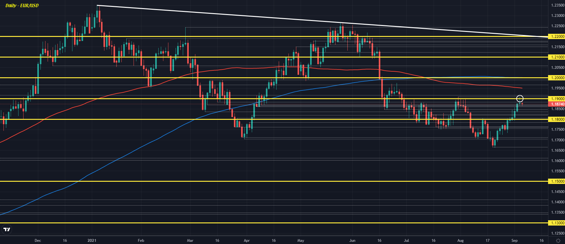 Dollar holds slight advance to start the session