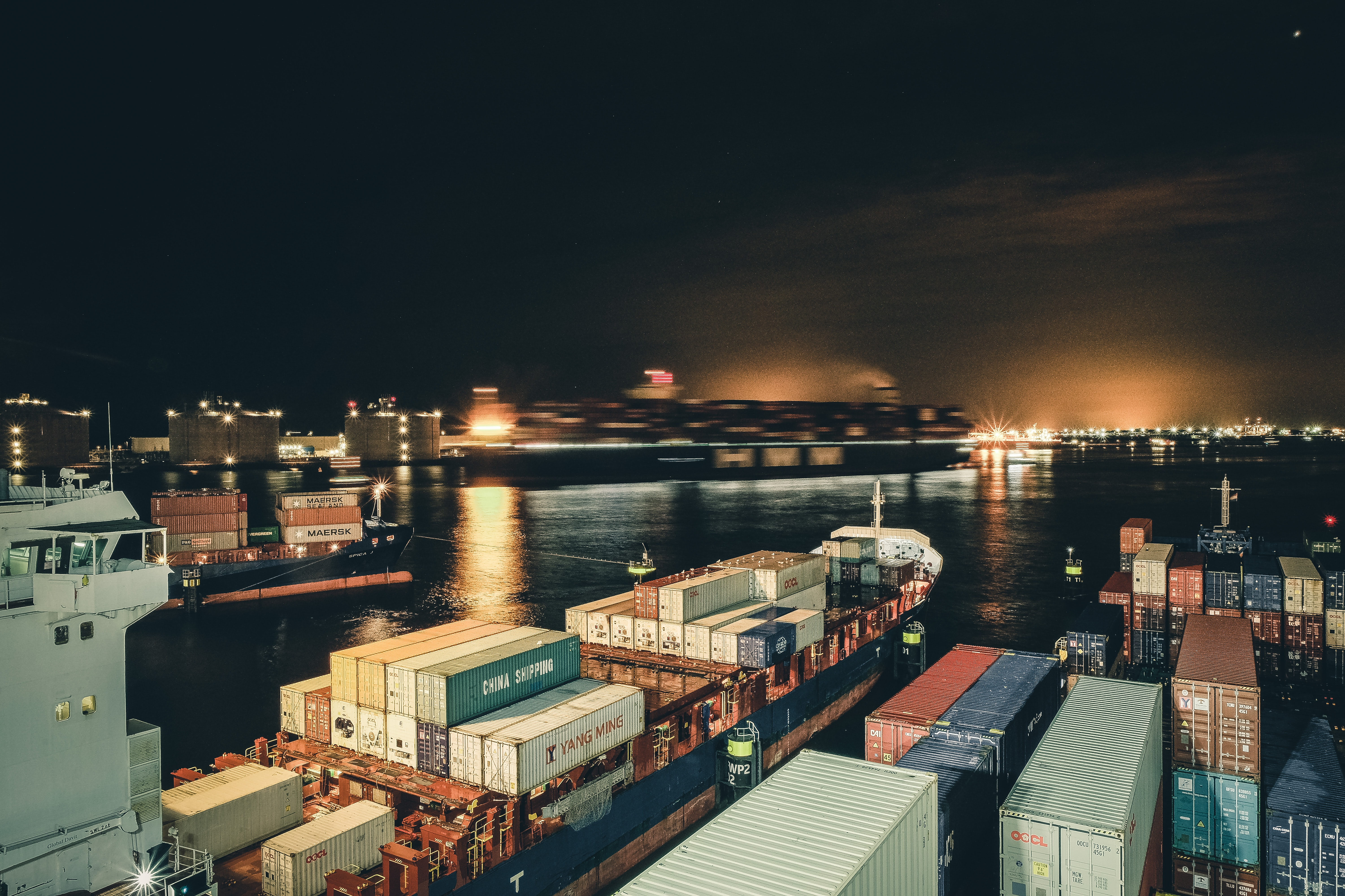 UK supply chain disruption as Maersk re-direct large vessels away from the UK