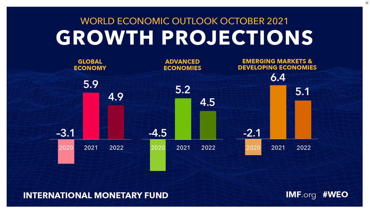IMF fractionally downgrades 2021 GDP, leaves 2022  unchanged